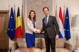 Visite diplomatique à La Haye